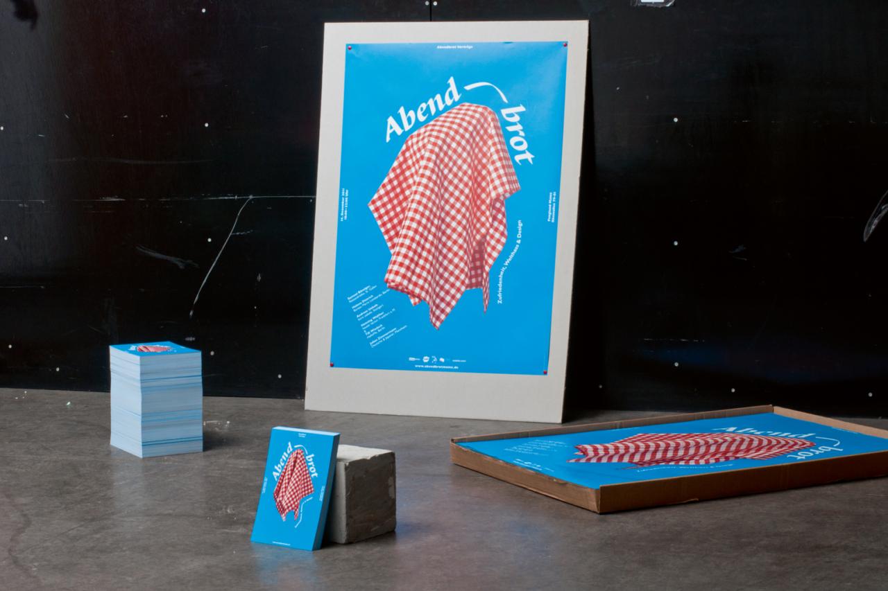 Daniel Weberruß • Design & Art Direction, Frankfurt a. M. Abendbrot Vortragsabend