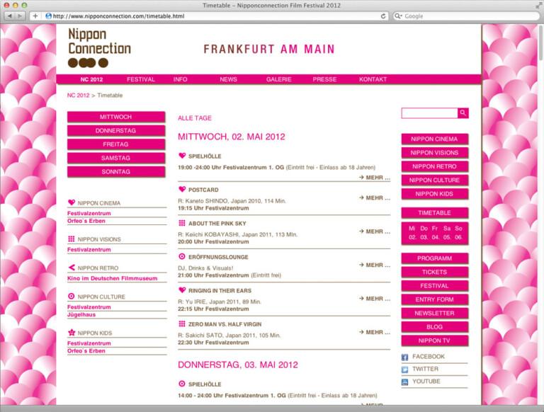 Daniel Weberruß • Design & Art Direction, Frankfurt a. M. Nippon Connection 2012